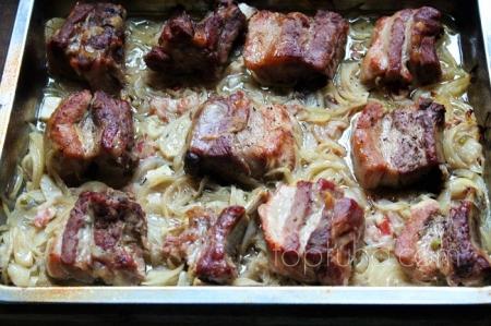Ребра свиные запеченные