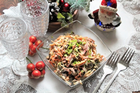 Салат, просто салат (нооливье 2021)